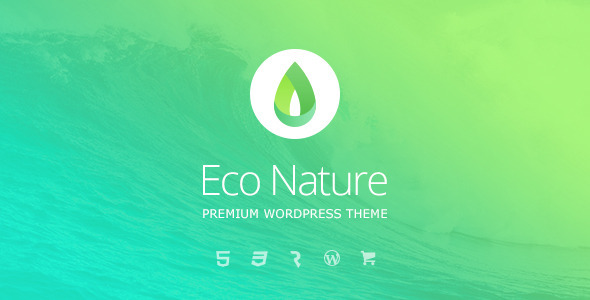 Tema WordPress Eco Nature