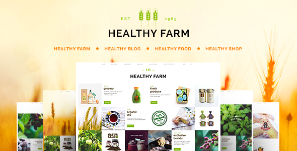 Tema WordPress Healthy Farm