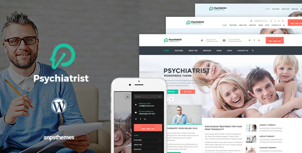 Tema WordPress Psychiatrist