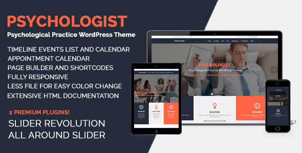 Tema WordPress Psychologist
