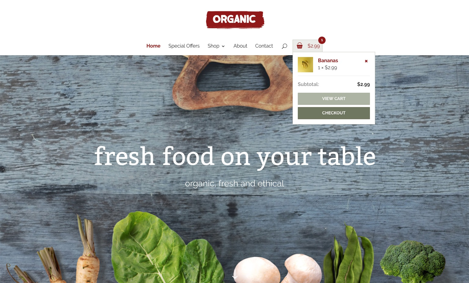 Diseño Web Organic